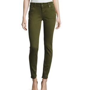 Hudson | Collin Flap Skinny Green Size 29